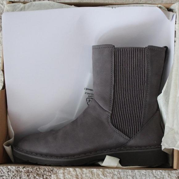 822dbdc03ac Ugg Larra Grey Boots NWT